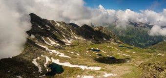 Laghi alpini Immagini Stock Libere da Diritti