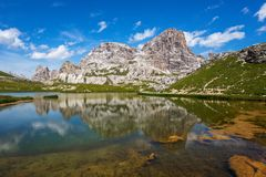 Laghi dei Piani Royalty Free Stock Images