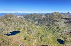 Laghi dell'alta montagna di Tristaina in Pirenei Immagine Stock Libera da Diritti