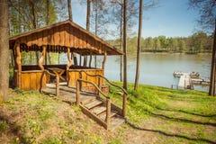 Laghi della Lituania Immagini Stock Libere da Diritti