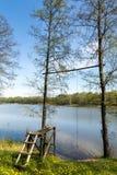 Laghi della Lituania Fotografia Stock Libera da Diritti