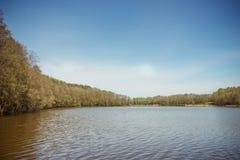 Laghi della Lituania Fotografie Stock