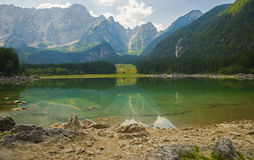 Laghi di fusine / Fusine lakes / Belopeska jezera, Italy Stock Photography