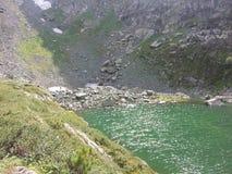 Laghi Karakol in montagne 2014 di Altai Immagini Stock Libere da Diritti