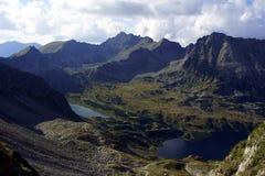 Laghi in montagne Immagine Stock
