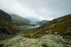 Laghi mountain Fotografie Stock Libere da Diritti