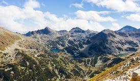 Laghi mountains Fotografia Stock Libera da Diritti