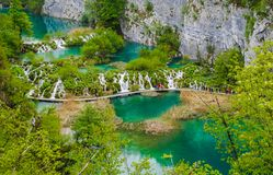 Laghi Plitvice Fotografie Stock