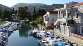 Lagkada schronienie przy Chios, Grecja Zdjęcie Royalty Free