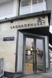 Lagkagenhuset_chain-Bäckerei Stockbild