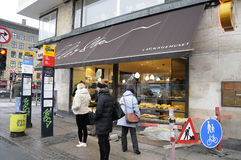 Lagkagenhuset_chain-Bäckerei Lizenzfreie Stockfotos