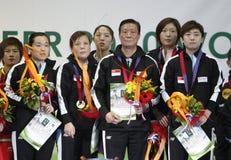 lagkvinnor för s singapore Royaltyfria Foton