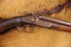 Lagledare Gun, scattergun, 12 gummin Royaltyfri Bild