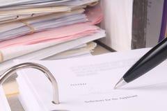 Laglig skrivbordsarbete bildar Fotografering för Bildbyråer
