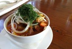 Lagman супа Стоковая Фотография