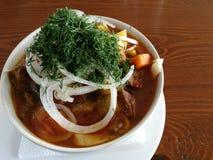 Lagman супа Стоковое фото RF