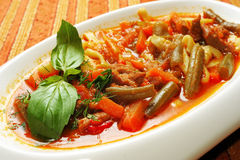 Lagman meal Stock Image