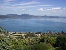 Lago二布拉恰诺(罗马) 免版税库存图片