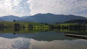 Lago Áustria Putterersee imagem de stock royalty free
