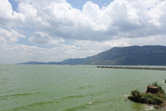 Lago ŒTien del ¼ di ŒKunming Chiï del ¼ di Dian Chiï nella porcellana di Kunming immagini stock