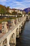 lago της Ιταλίας baveno maggiore στοκ φωτογραφίες