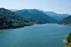 Lago 1 Siriu Fotografie Stock