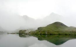 Lago 2 Balea Immagine Stock