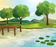 Lago libre illustration