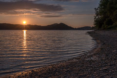 Lago Fotografie Stock