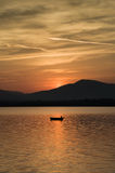 Lago Fotografia Stock