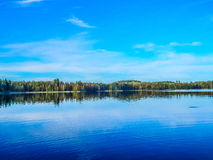 Lago Foto de Stock Royalty Free