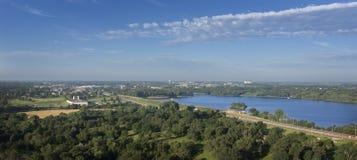 Lago aéreo Fotos de Stock