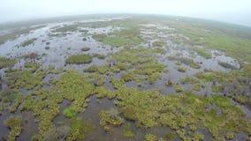 Lago aéreo Okeechobee metrajes