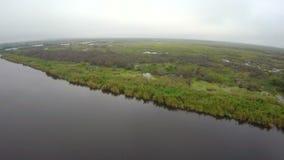 Lago aéreo Okeechobee almacen de video