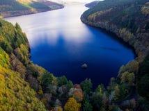 Lago aéreo Vyrnwy Fotografía de archivo