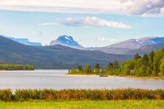 Lago Aangardsvatnet Imagenes de archivo