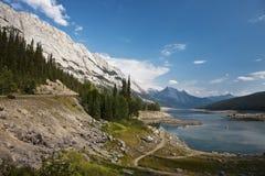 Lago Abraham - parque nacional del jaspe Foto de archivo
