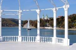 Lago Abrau Fotografia Stock Libera da Diritti