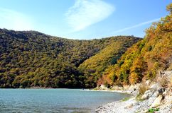 Lago Abrau Fotografie Stock