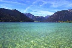 Lago Achensee, Austria Fotografie Stock Libere da Diritti