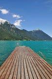 Lago Achensee, el Tyrol Fotografía de archivo