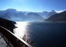 Lago Achensee em Tirol Fotografia de Stock
