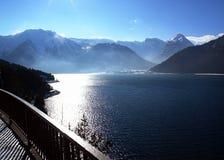 Lago Achensee en el Tirol Fotografía de archivo