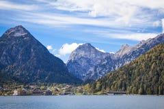 Lago Achensee in Tirolo Fotografia Stock Libera da Diritti