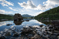 Lago Achray Immagini Stock Libere da Diritti