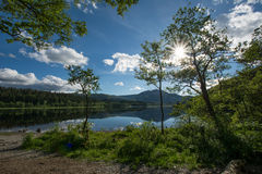 Lago Achray Fotografia Stock Libera da Diritti