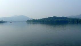 Lago ad ovest di estate Fotografie Stock