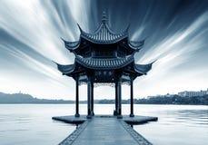 lago ad ovest di hangzhou della porcellana Fotografie Stock Libere da Diritti