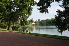 Lago Adair a Orlando, Florida immagini stock libere da diritti