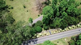 Lago aerial view in Malesia seremban stock footage